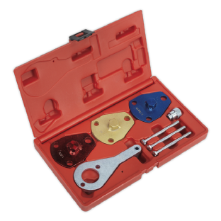 Sealey VSE2512 Diesel Engine Setting/Locking Kit - Alfa Romeo, Fiat - 1.7D/DT, 1.9D/DT- Belt Drive